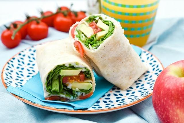 Green Power Lunch Wrap