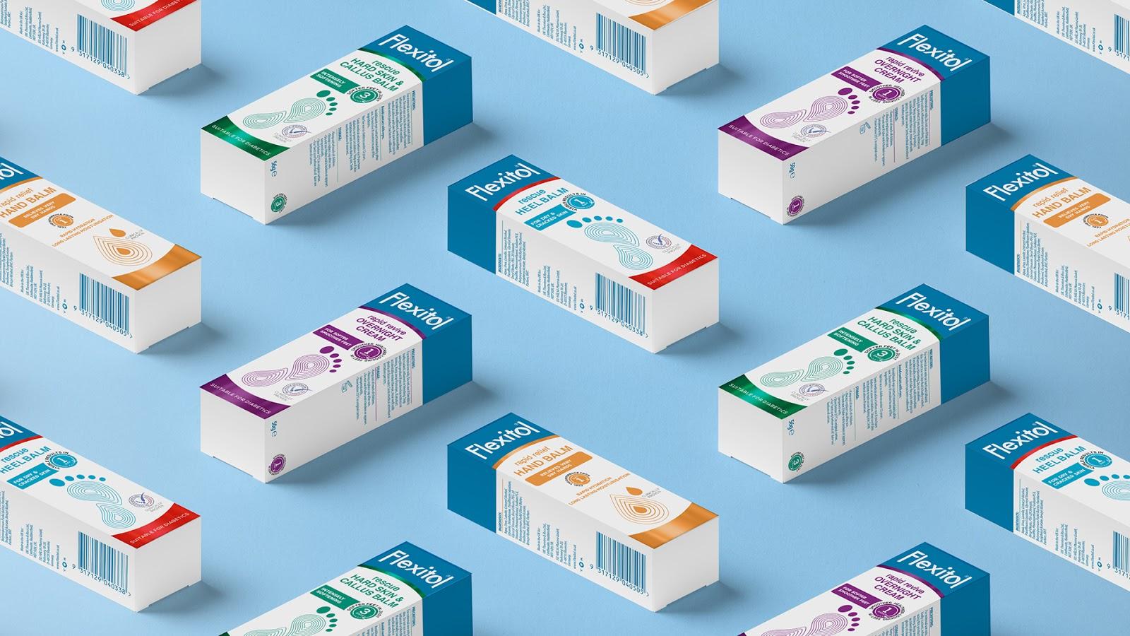 Flexitol brand repositioning
