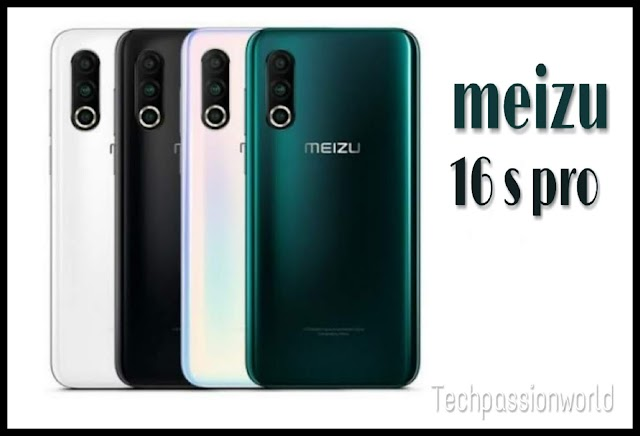 Meizu 16s pro Full specifications and features - 2019