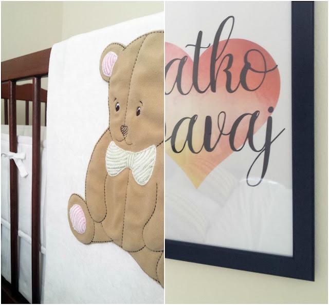 Dječji krevetić - dekoracije