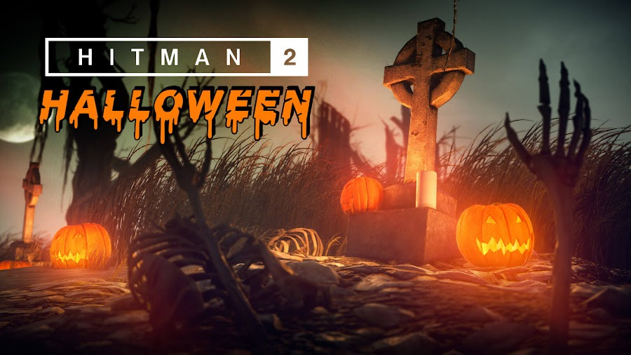 hitman 2 halloween event spooky reward unlocks free content release date io interactive warner bros interactive entertainment