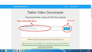 cara download video dari twitter tanpa aplikasi atau menggunakan situs web downloader