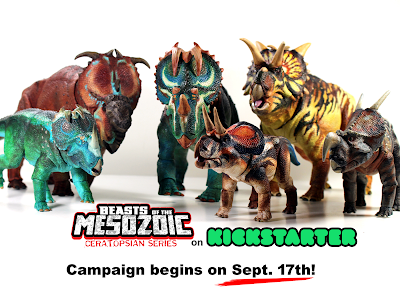 Beasts of the Mesozoic Dinosaur action figure kickstarter