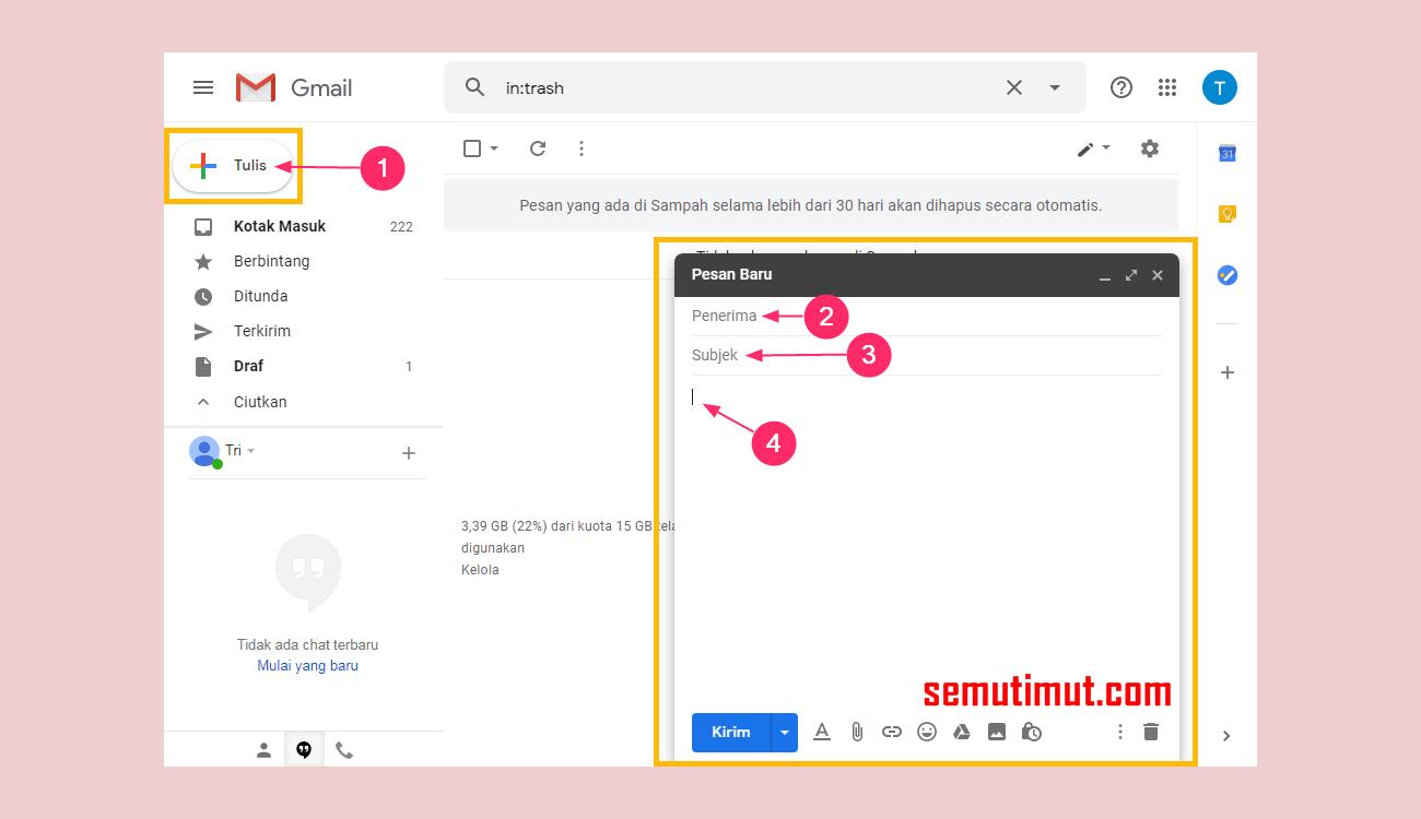 Cara Mengirimkan File Powerpoint Ppt Lewat Gmail Di Laptop Semutimut Tutorial Hp Dan Komputer Terbaik