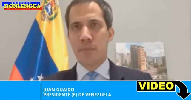 Juan Guaidó descubrió que Maduro convirtió a Venezuela en un santuario para criminales