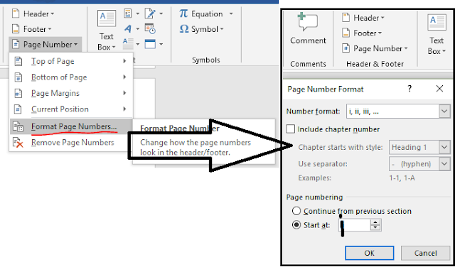 How to make formal document in Ms-Word?