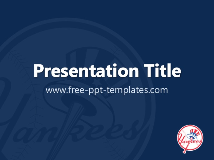 New york yankees ppt template toneelgroepblik Image collections