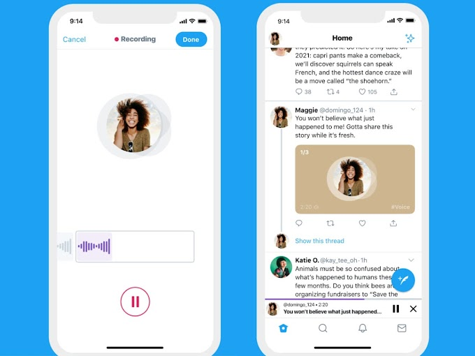 Twitter Intoduces Voice Tweets For iphone Users Only