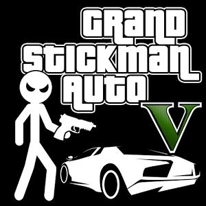 Grand Stickman Auto V MOD APK terbaru