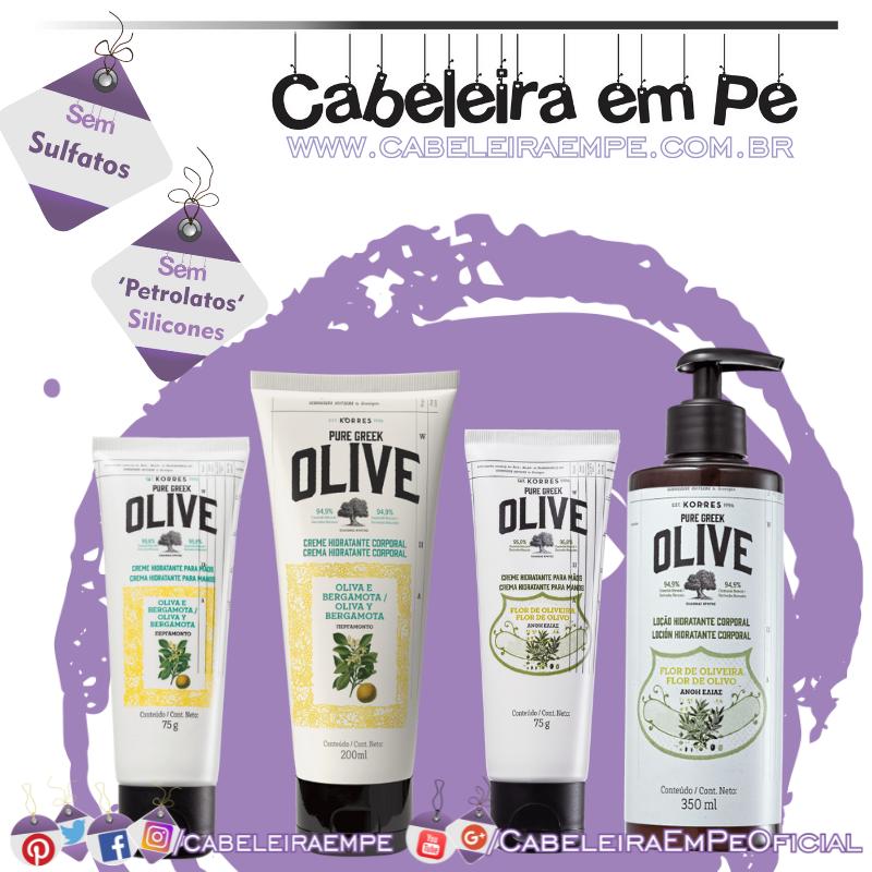 Hidratantes Oliva - Korres