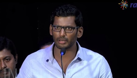 Vishal's controversial speech | Kathirupor Pattiyal Audio Launch