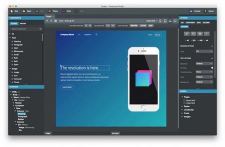 Bootstrap Studio Download Grátis