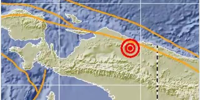 Papua Diguncang Gempa Magnitudo 5,5, Tidak Berpotensi Tsunami