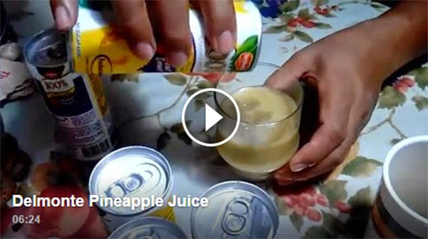'Black Residue' Found In Del Monte Pineapple Juice
