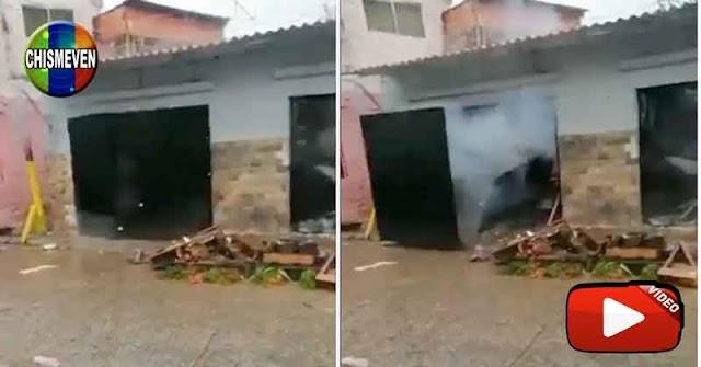 GNB destruyó con explosivos la casa de El Vampi en la Cota 905