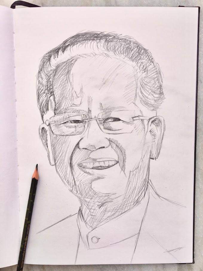 Portrait of Tarun Gogoi in 10 minutes