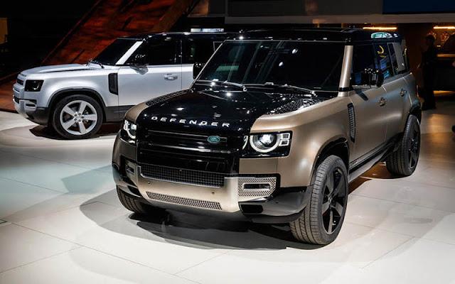 Land Rover Defender 2020 trở lại với nhiều cải tiến mới mẻ