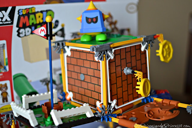 Reach the goal with the SUPER MARIO: Prongo Building Set #KNEXBrands