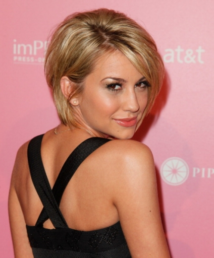 Awe Inspiring Chelsea Kane Short Haircut Picture Hairstyles For Men Maxibearus