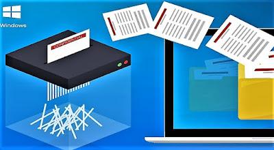شرح حذف الملفات نهائيا Free File Shredder