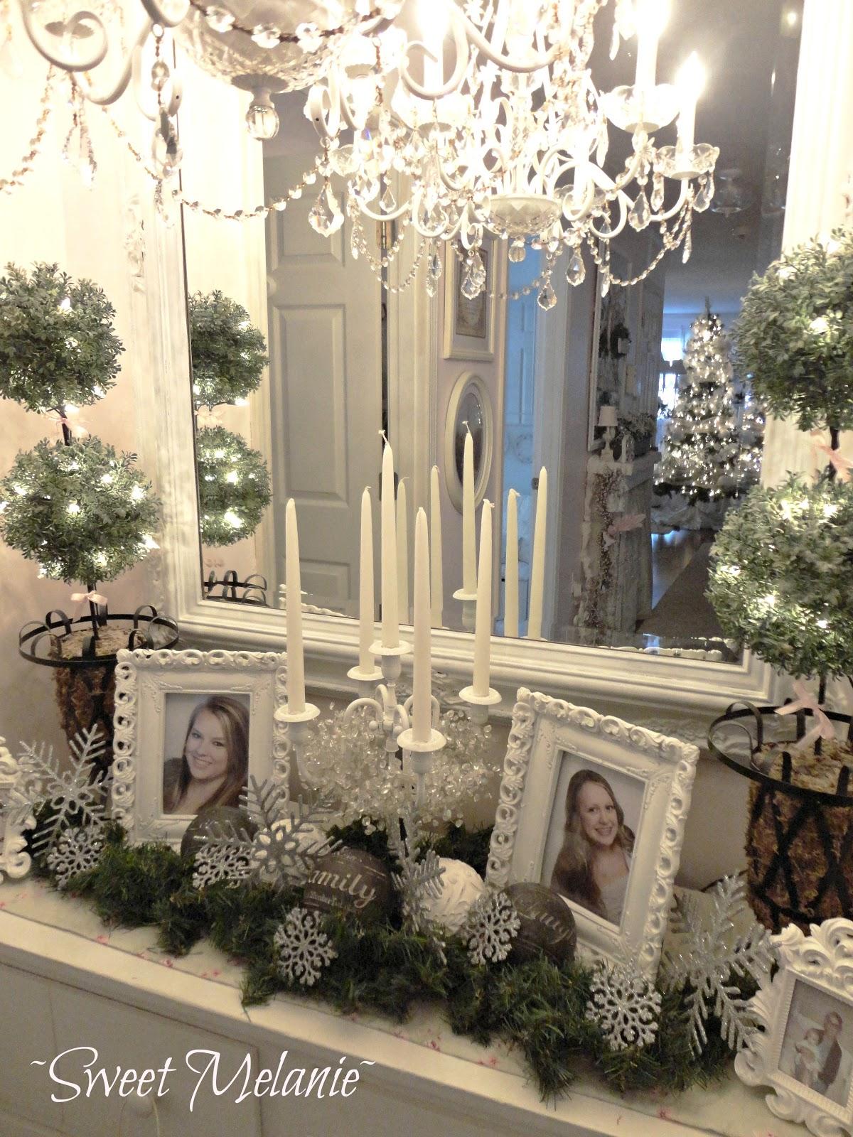 Shabby Chic Christmas Home Tour Debbiedoo S