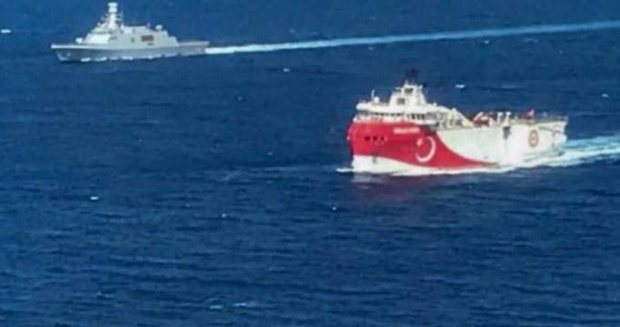 Νέα Navtex για το Ορούτς Ρέις στην Ανατολική Μεσόγειο