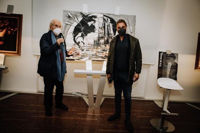 Obiettivo Globale: svelata a Palazzo Merulana l'opera di Marco Tamburro dedicata al premio Oscar Vittorio Storaro