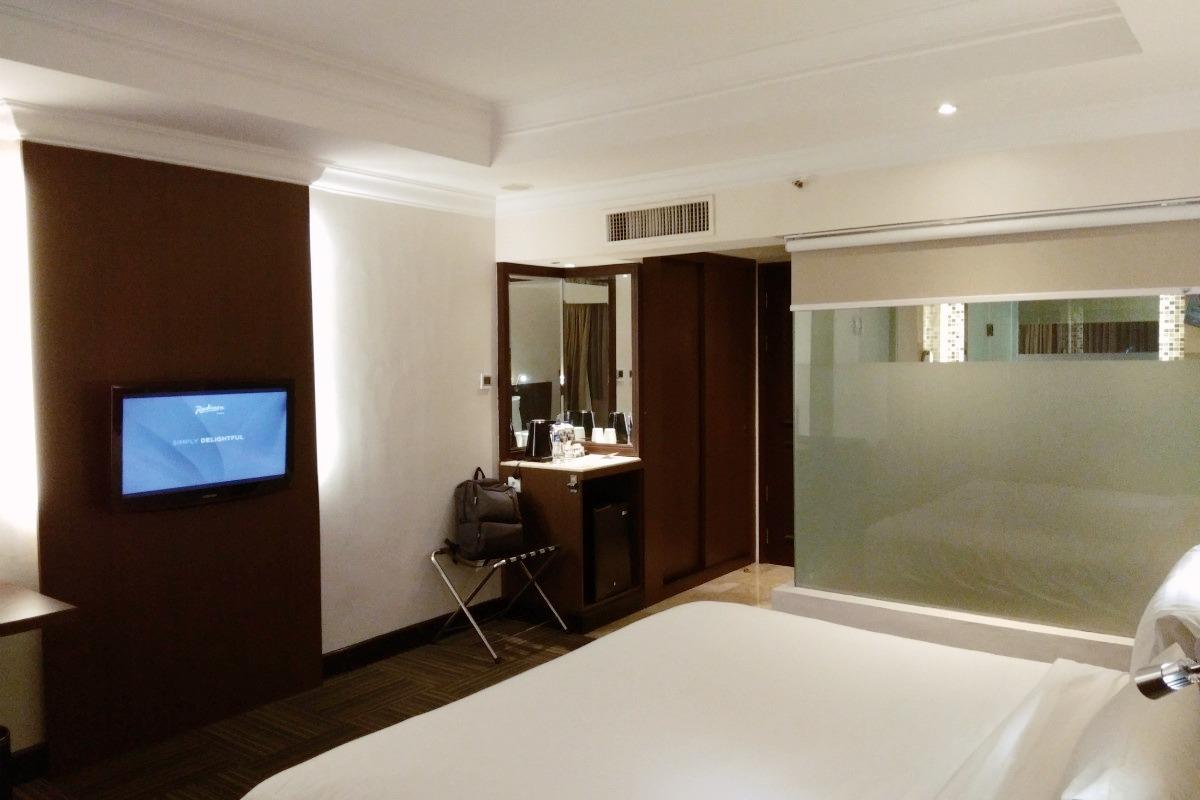 Kamar Hotel Radisson Medan: Luas, Terang, Bersih dan Nyaman