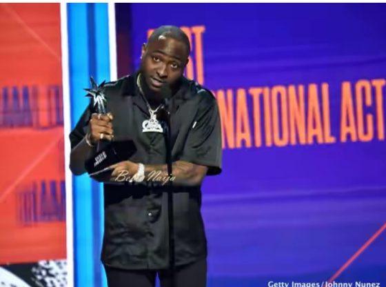 Davido Wins Best International Act on Bet Awards - See Full List Winners