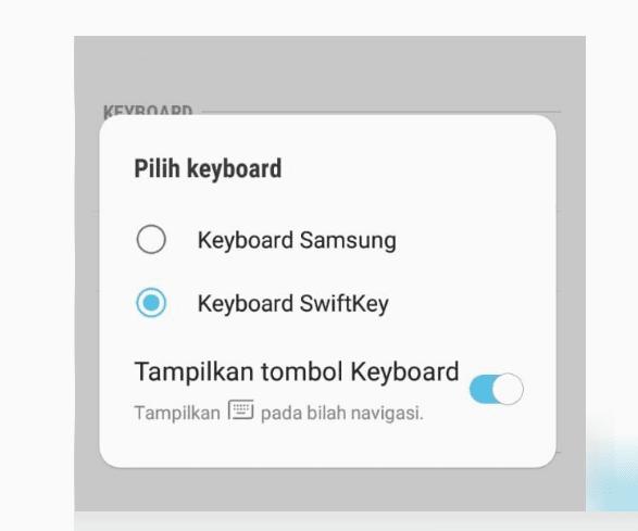 Ganti Keyboard SwiftKey