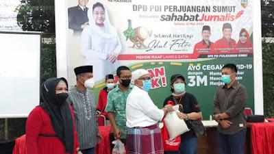 Jelang Idul Fitri 2021, DPD PDIP Sumut Gelar Silaturahmi dengan Wartawan