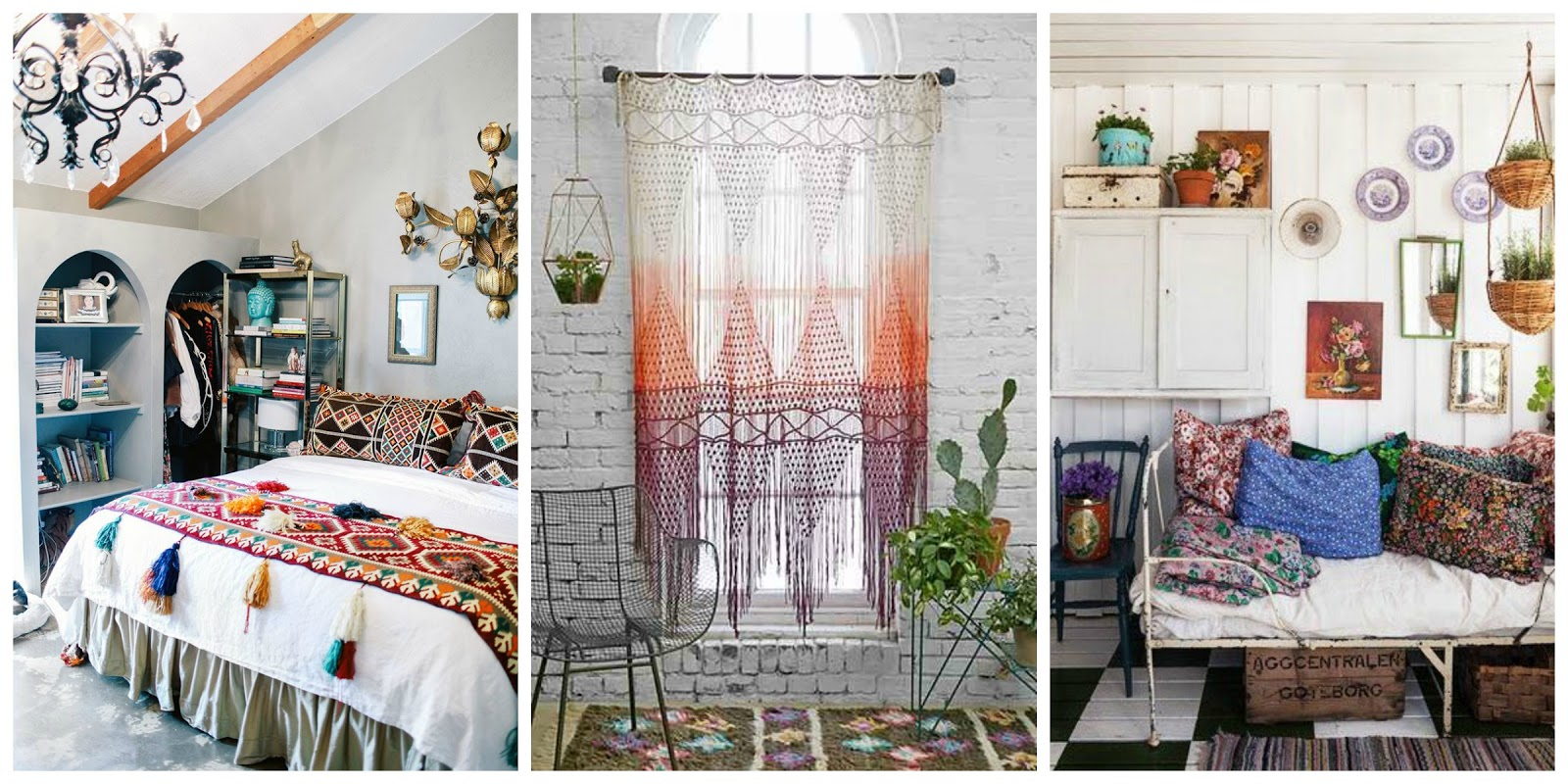 Inspiraci n estilo boho chic for Cuartos hippies