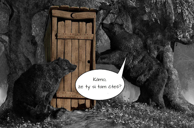 http://www.deviantart.com/art/Bears-Around-The-Outhouse-364680396