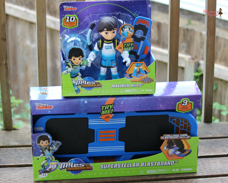 97b67054cc0  Giveaway 2 New Disney Junior Miles from Tomorrowland Toys from TOMY Toys