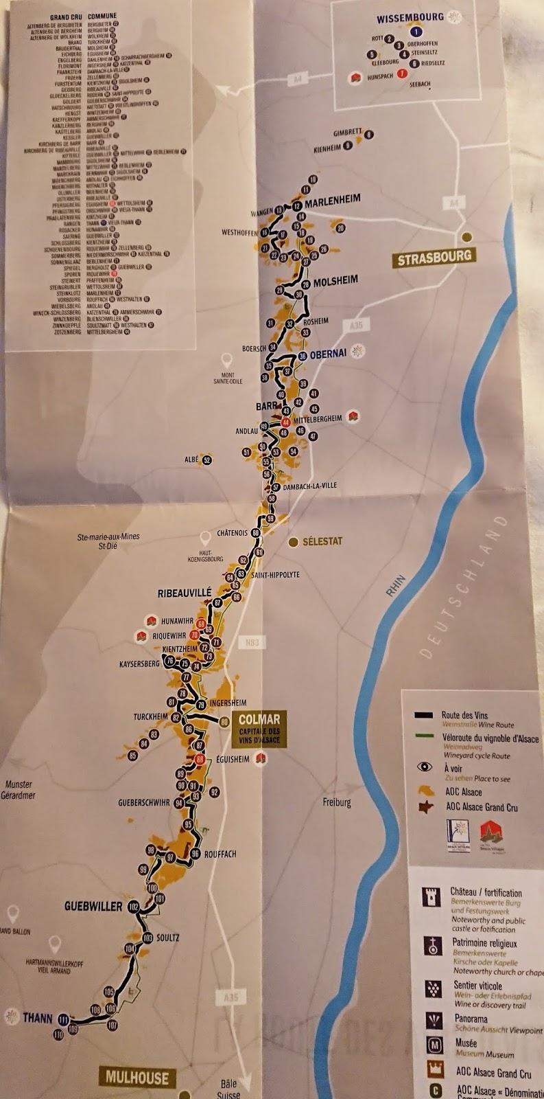 Namistelija Alsacen Viinialueella Koillis Ranskassa
