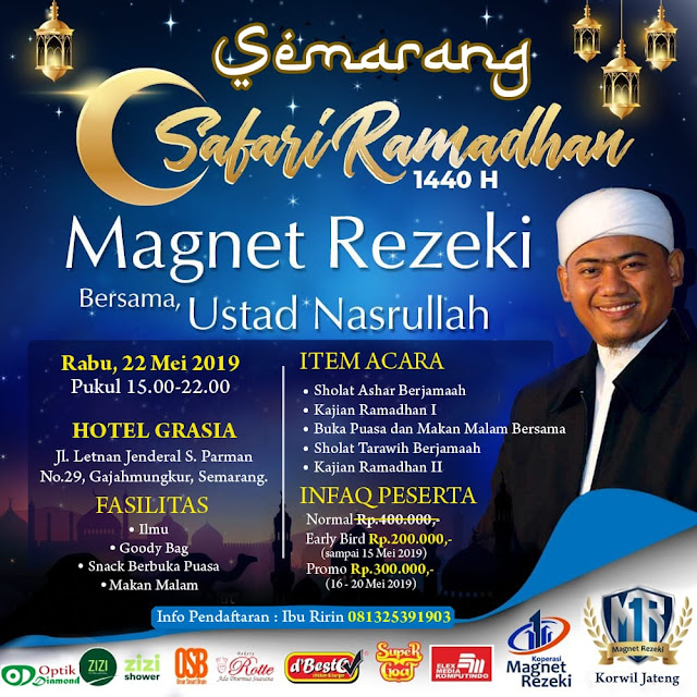 safari ramadhan bersama ustadz nasrullah di hotel grasia semarang