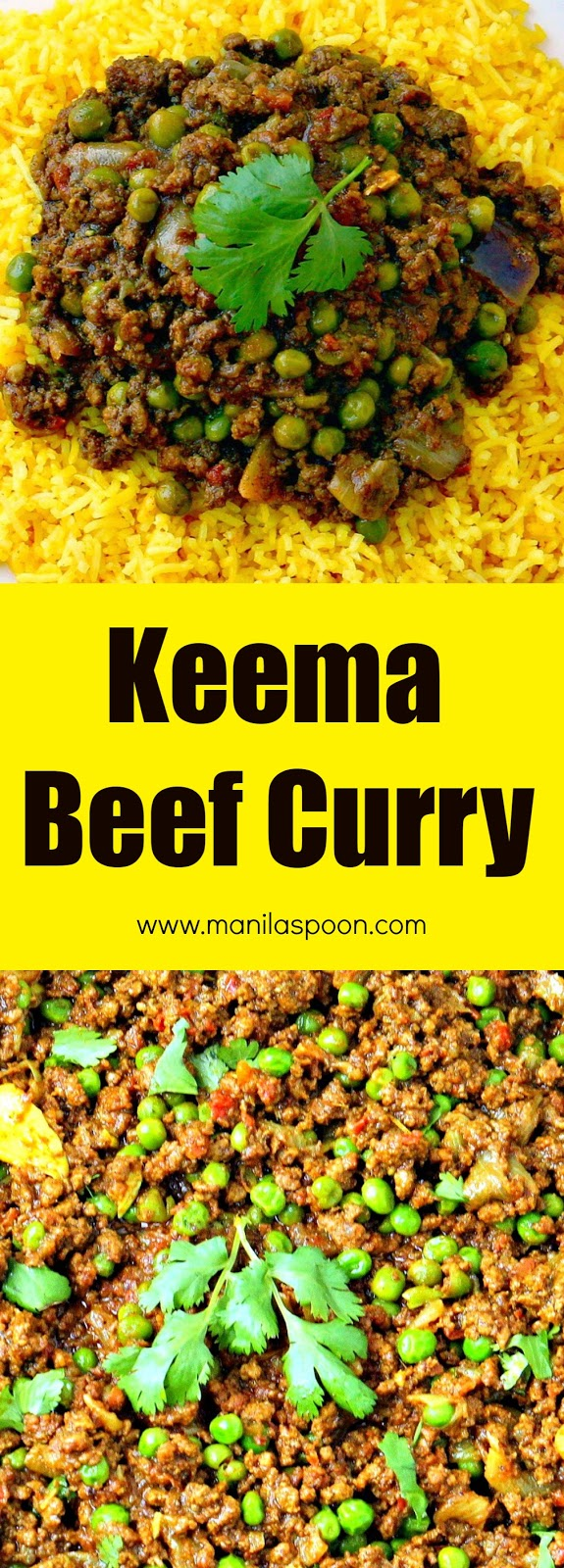 Easy, tasty and not much prep is required to make this ground beef Keema curry!