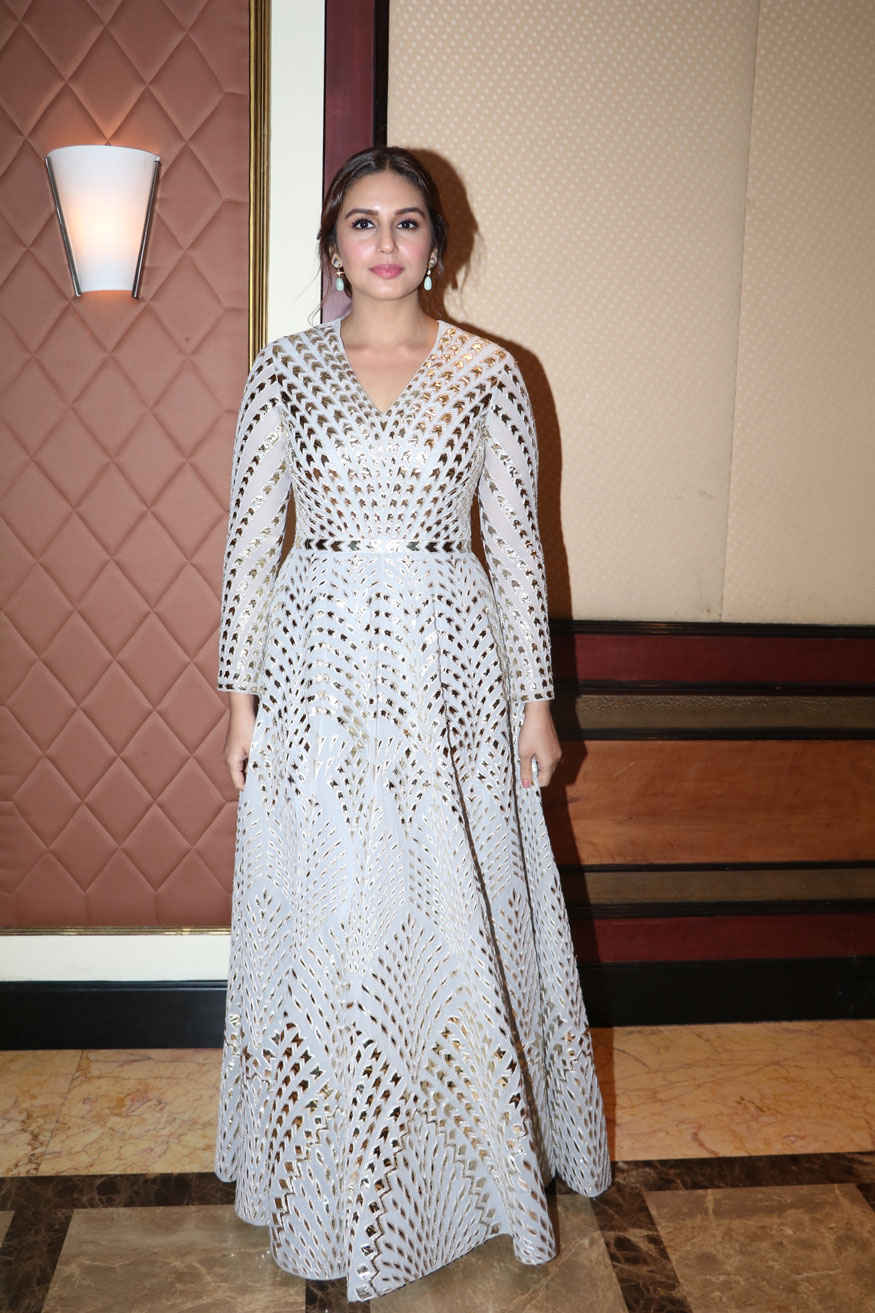 Huma Qureshi at Music Launch of Movie Partition: 1947 In Mumbai