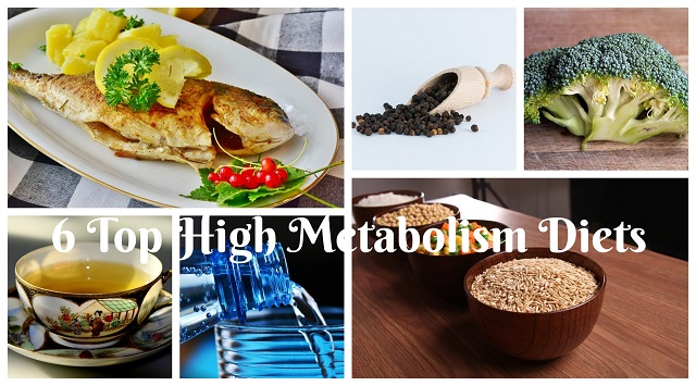 6 Top High Metabolism Diets