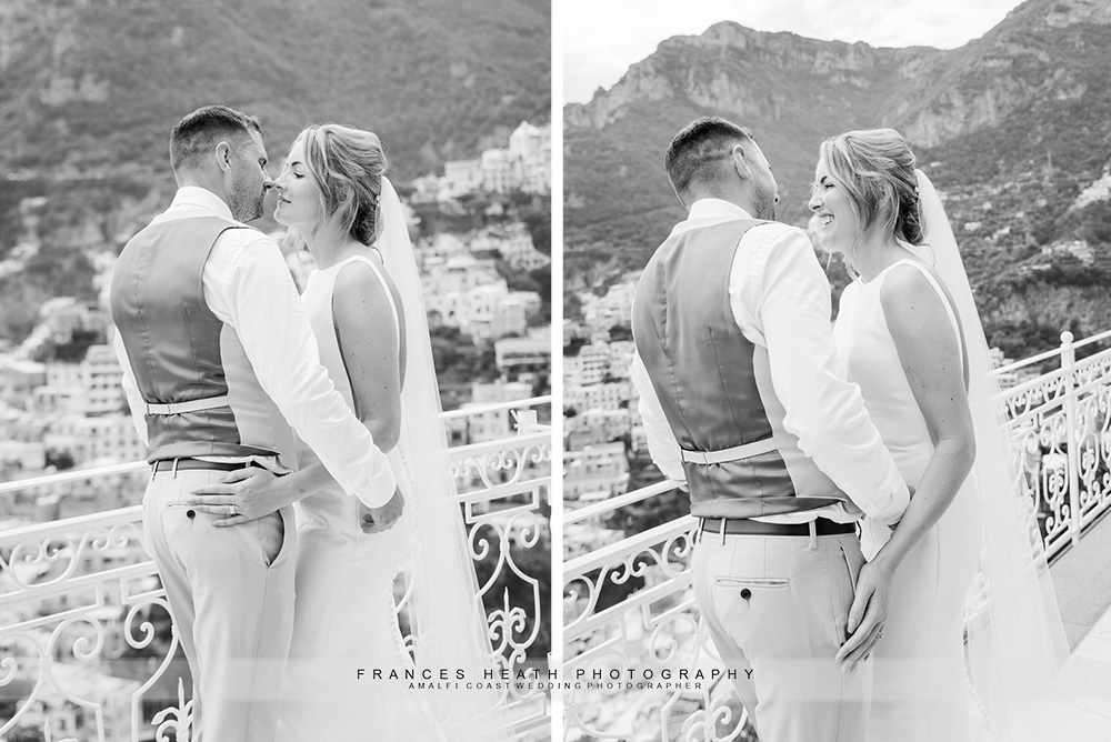 Positano wedding portrait