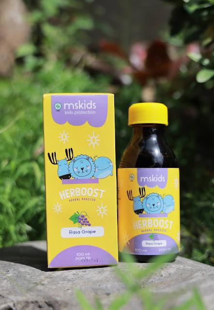 Ms Glow Kids Herboost vitamin untuk anak
