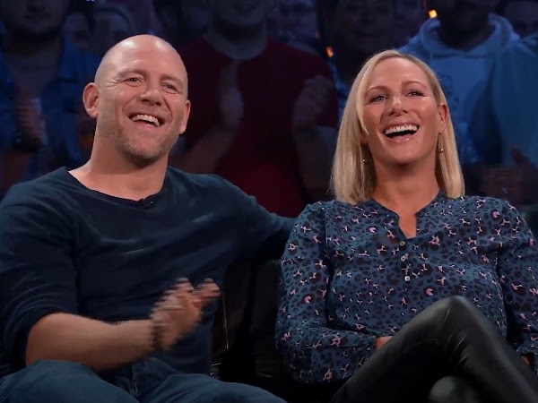 Zara i Mike Tindall w Top Gear.