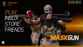 Download Game MaskGun Multiplayer FPS V1.97 MOD Apk ( High Damage / Ammo / No Reload )