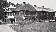 Dwór rodziny Sapiehów w Siedliskach na Roztoczu