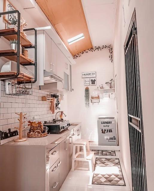 Menata Dapur Minimalis Modern Kecil tapi Cantik