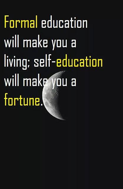 jim rohn self education