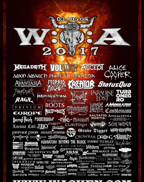 Wacken Open Air anuncia Accept e confirma line up oficial deste ano