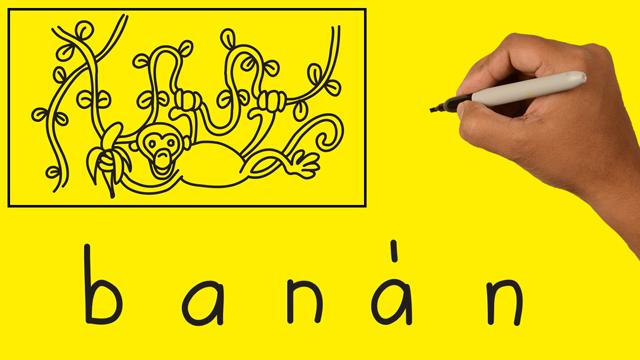 Szavakból rajzok – BANÁN