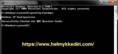 Kecepatan meningkat dengan DNS flush