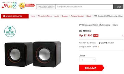 daftar harga speaker acer